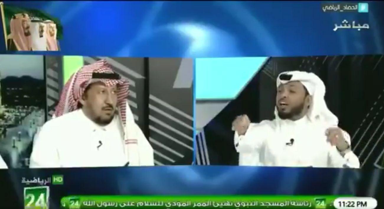 بالفيديو..عبدالمحسن الجحلان:أمام الهلال ..الأندية الأخرى أقزام..والمريسل يرد!