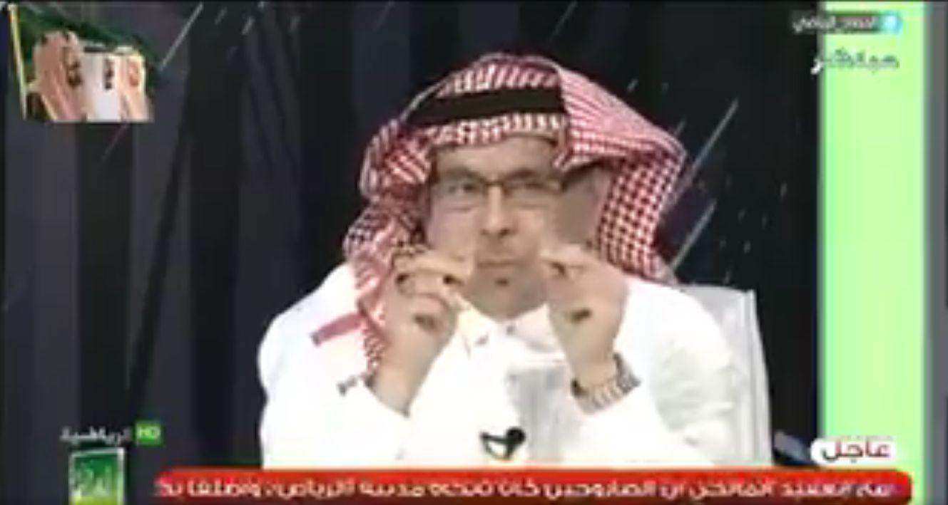 """بالفيديو..مساعد العمري للجحلان:عندما تقدم نصائح لـ""""العويس"""" قدم مثلها لـ""""المعيوف""""!"""