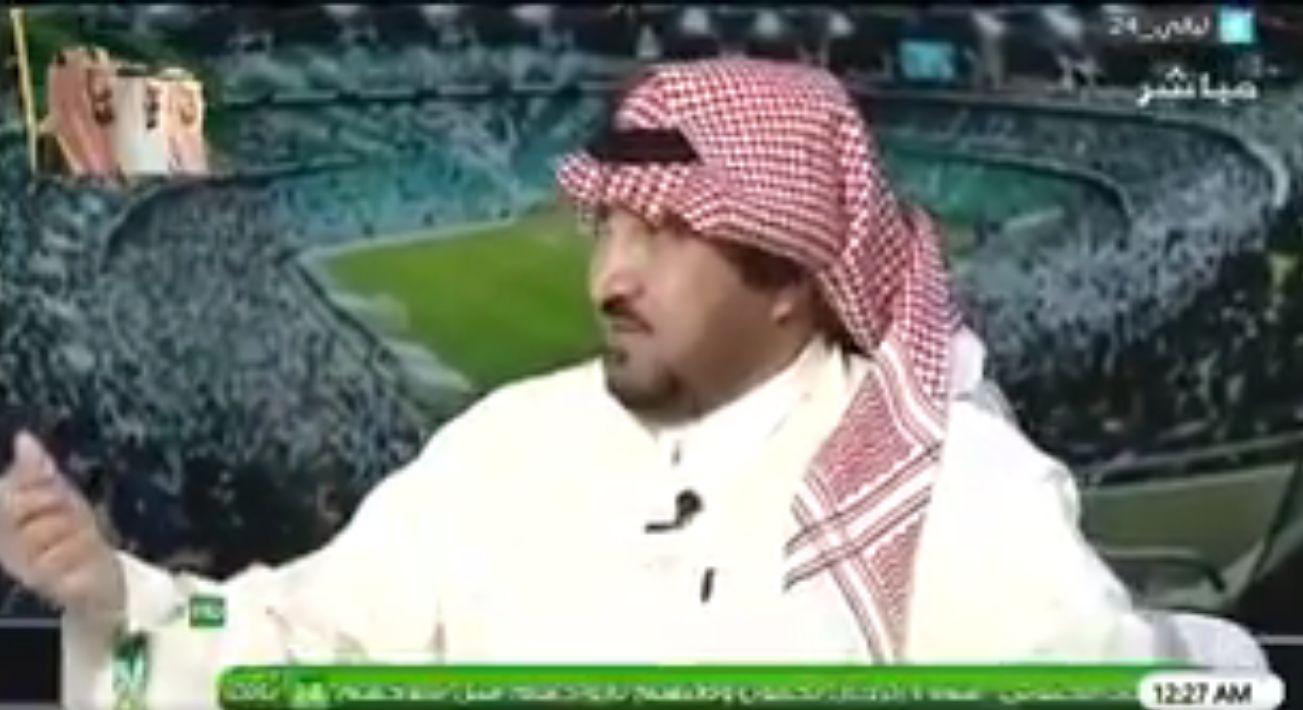 بالفيديو..عبدالمحسن الجحلان يحذر المنتخب السعودي من هذا الأمر في مباراة روسيا!