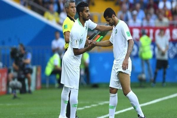 فحص طبي يحدد إمكانية مشاركة الجاسم أمام مصر