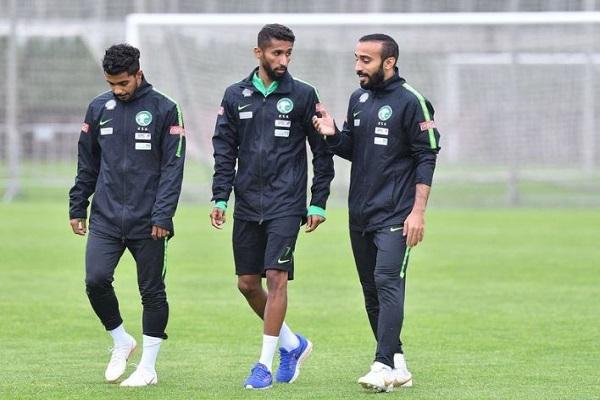 المنتخب السعودي يستأنف تدريباته استعدادًا لمواجهة مصر