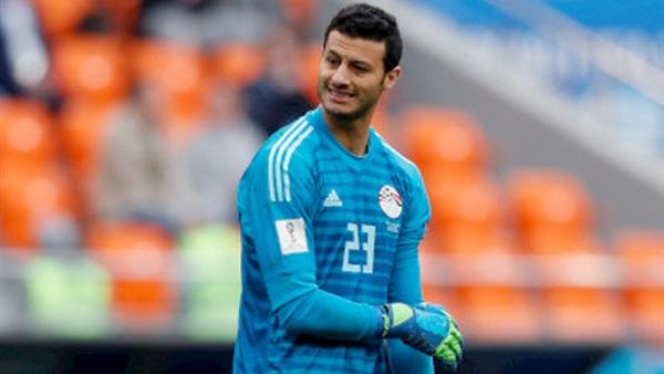 لماذا رفض الحارس المصري محمد الشناوي استلام جائزة أفضل لاعب في مباراة مصر واوروغواي-صورة