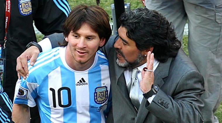 """مارادونا: ميسي """"يغلي"""" وما حدث """"عار""""!"""