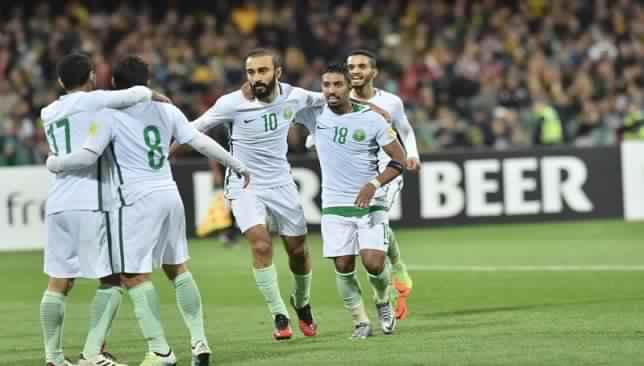 المنتخب السعودي يحافظ على مركزه في تصنيف الفيفا
