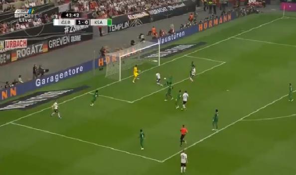 بالفيديو.. فيرنر يضيف الهدف الثاني للمنتخب الألماني في مرمى السعودية