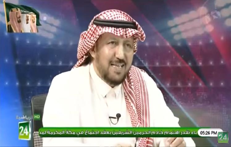 """بالفيديو.. الجحلان لـ """"عايد الرشيدي"""": إذا حقق النصر كأس إلى عام 94 اعطيك مليون ريال"""