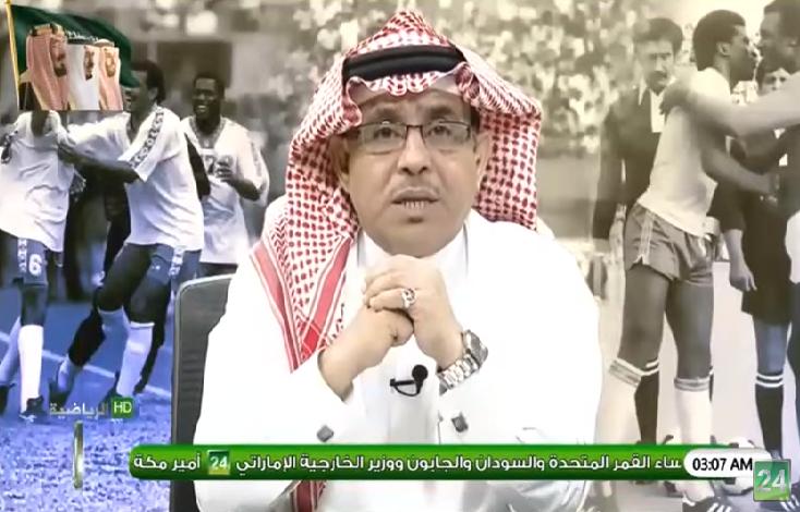بالفيديو.. مساعد العمري: النادي الأهلي ولد كبيراً ليبقى عملاقاً يقدم فنون كرة القدم!