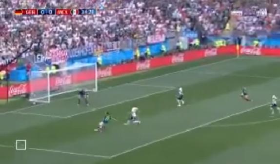 بالفيديو.. لوزانو يسجل الهدف الأول للمكسيك في شباك ألمانيا