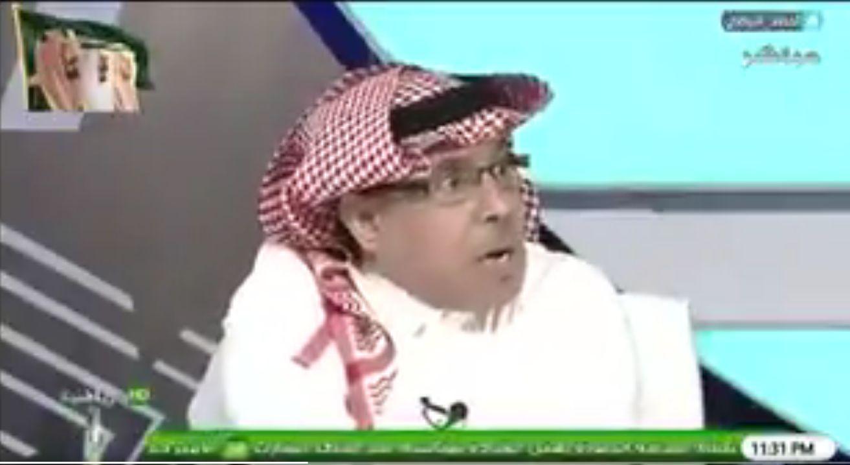 بالفيديو..العمري لـمحمد الذايدي:شيلونا من الهلال علشان نربح..ورد مثير من الأخير!
