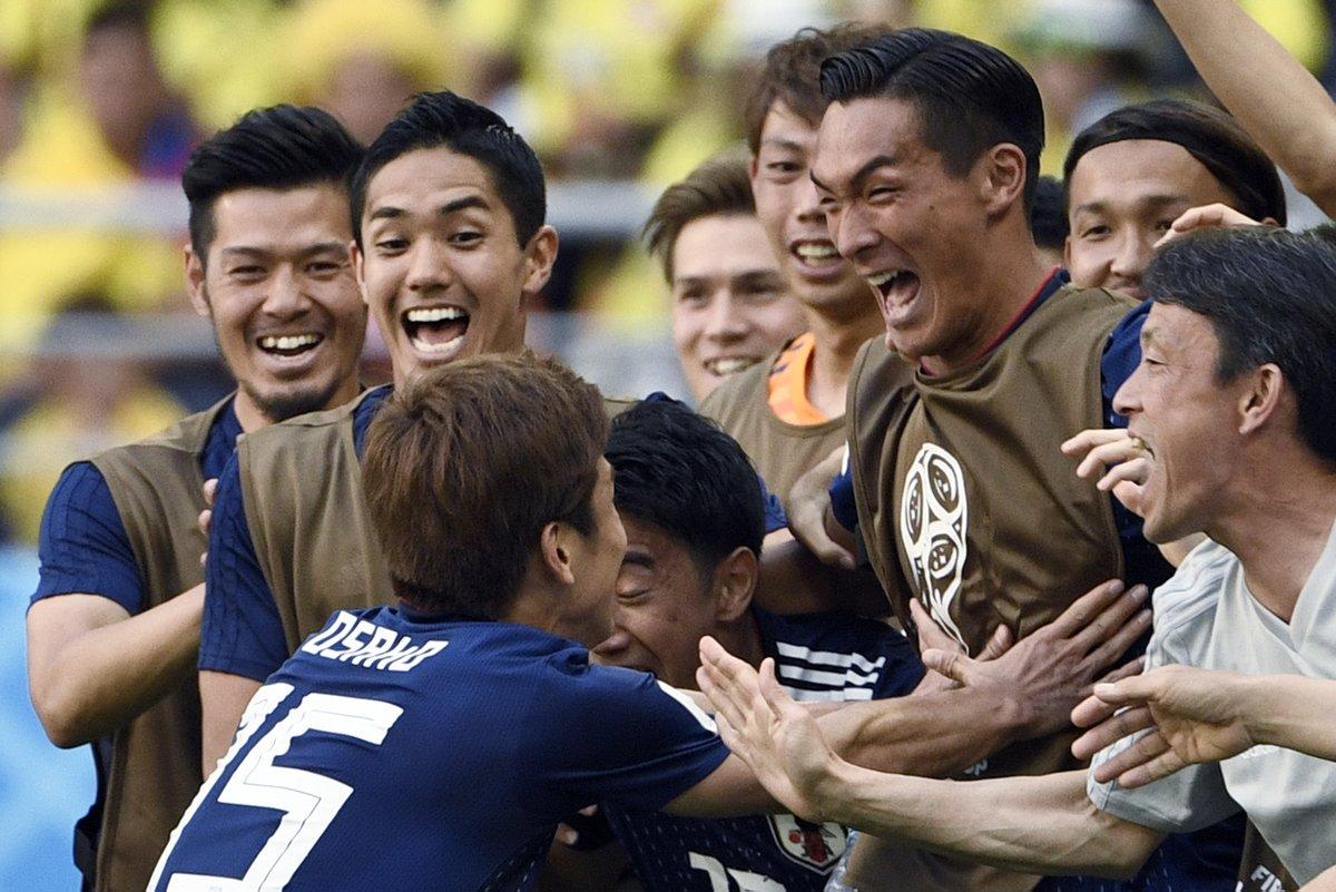 بالفيديو..منتخب اليابان يحقق مفاجأة ويهزم كولومبيا بهدفين