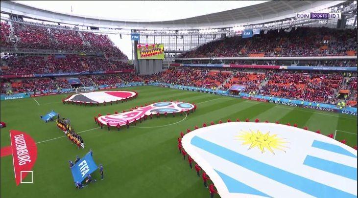 شاهد بث مباشر للقاء مصر مع اوروجواي في مونديال روسيا مرصد الرياضة