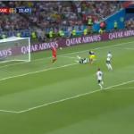 بالفيديو.. السويد تسجل الهدف الأول في شباك ألمانيا