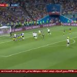 بالفيديو.. فرصة هدف تضيع من ألمانيا مع بداية الشوط الثاني