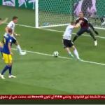 بالفيديو.. ألمانيا تهدر فرصة هدف محقق