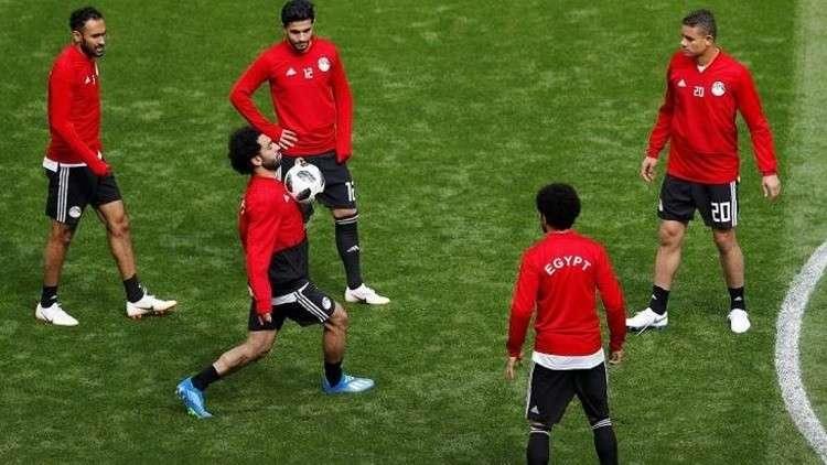 المنتخب المصري يكشف الموقف النهائي عن مشاركة صلاح أمام روسيا