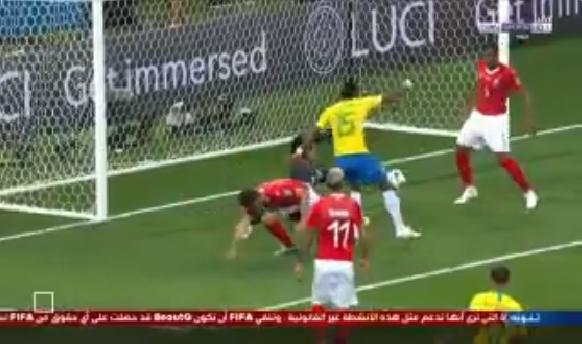 بالفيديو..فرصة هدف محقق تضيع من البرازيل