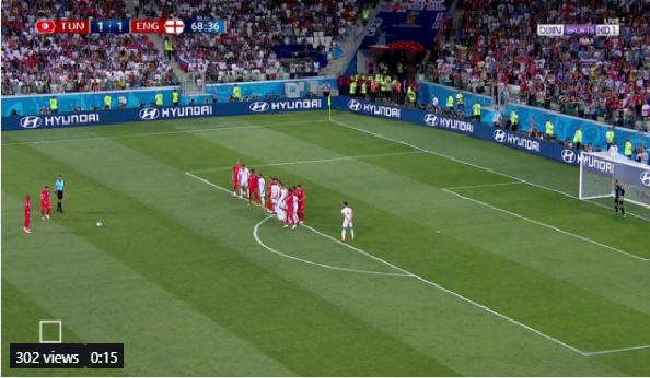 بالفيديو.. فرصة هدف محقق تضيع من إنجلترا