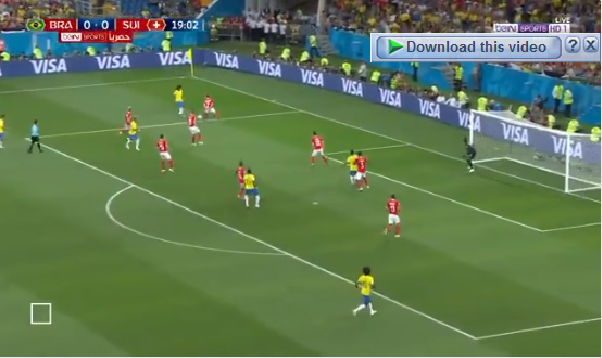 بالفيديو.. كوتينيو يسجل هدف رائع للبرازيل في شباك سويسرا