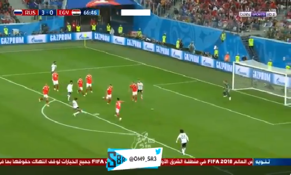 بالفيديو.. تريزيجيه يهدر فرصة هدف مؤكد للمنتخب المصري