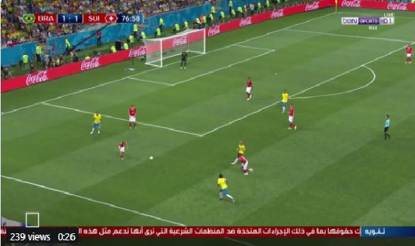 بالفيديو.. نيمار يهدر فرصة هدف محقق للبرازيل