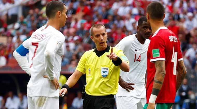 الفيفا يكشف حقيقة طلب حكم البرتغال والمغرب لقميص رونالدو !