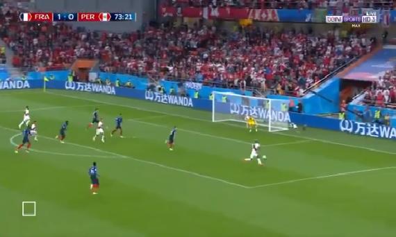 بالفيديو.. لاعب بيرو يهدر فرصة هدف مؤكد