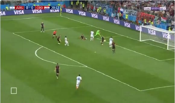 بالفيديو.. الأرجنتين تهدر فرصة هدف محقق