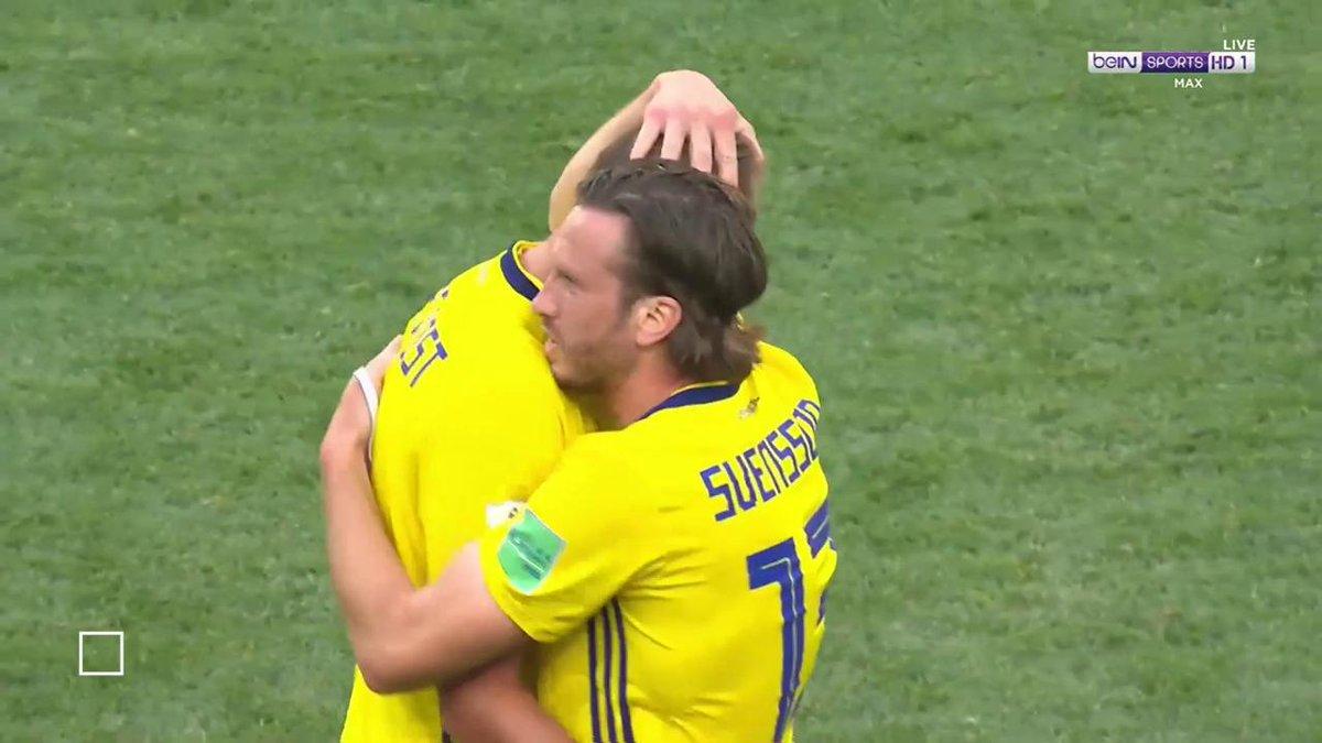بالفيديو..السويد تنجح في مهمتها امام كوريا الجنوبية باستخدام الفيديو