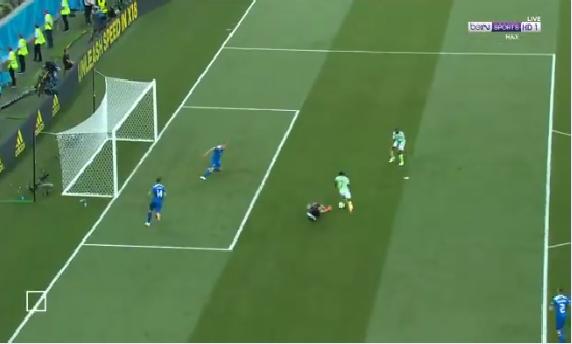 بالفيديو.. نيجيريا تسجل الهدف الثاني في مرمى أيسلندا