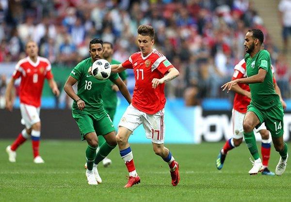 صحيفة: فضيحة منشطات قد تمنح السعودية نقاط مباراة روسيا