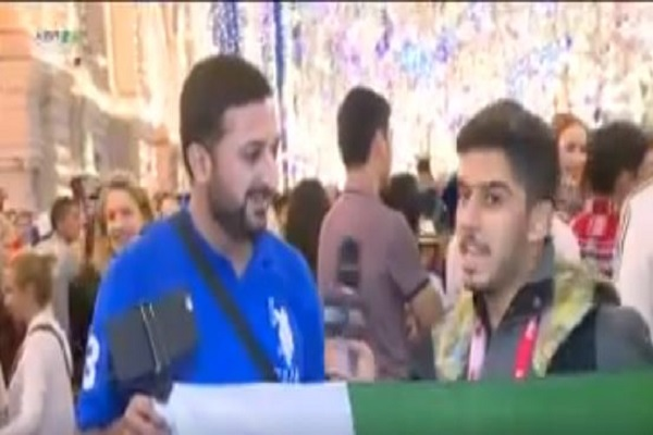 بالفيديو.. شاهد مشجع من باكستان يسافر إلى روسيا لتشجيع الأخضر السعودي
