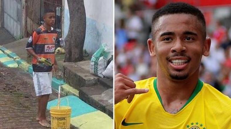 صور لرسام الشوارع الذي أصبح لاعباً في كأس العالم