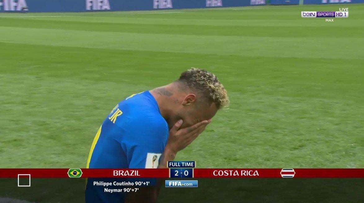 بالفيديو..البرازيل تقهر كوستاريكا بهدفين في الوقت القاتل!