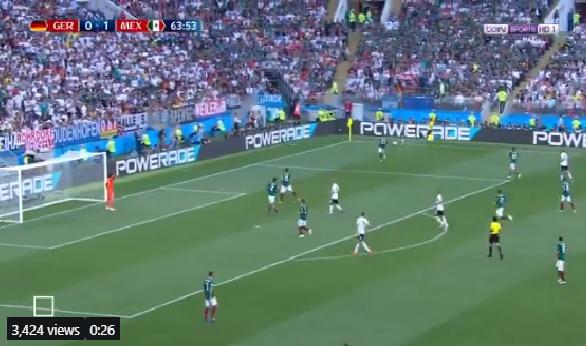 بالفيديو.. كيميتش يهدر فرصة هدف محقق لمنتخب ألمانيا