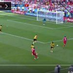 بالفيديو..الهدف الثاني لمنتخب تونس في شباك بلجيكا
