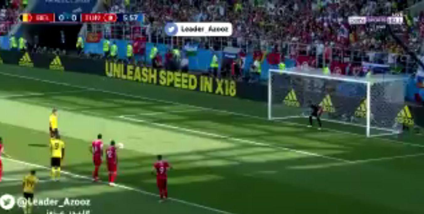 بالفيديو..الهدف الأول لمنتخب بلجيكا في شباك تونس من ركلة جزاء