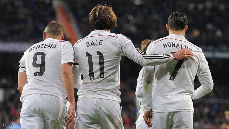في  ريال مدريد.. نهاية ثلاثي الـ BBC وبداية الـ BBV