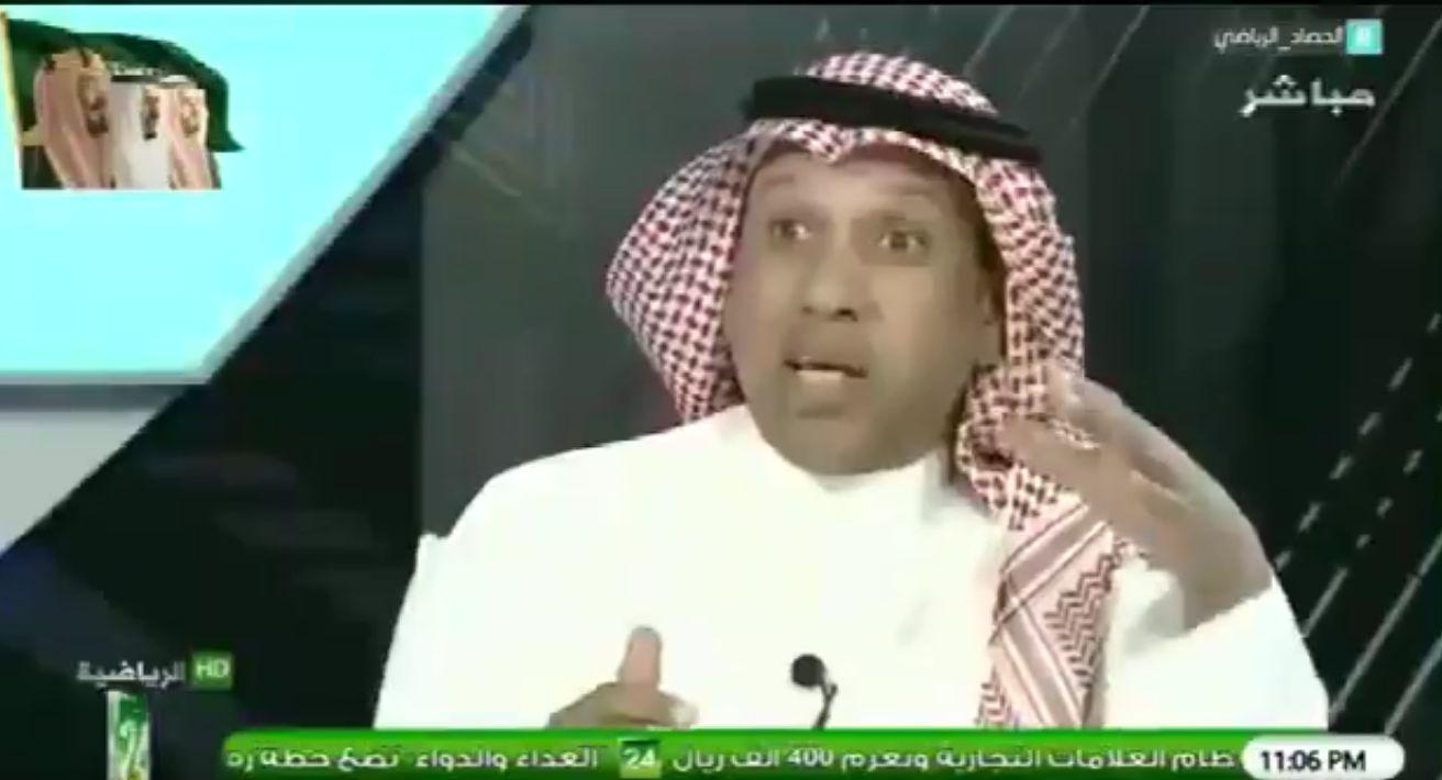 بالفيديو..سعد مبارك لـ مطرف القحطاني: هل من الممكن أن يتعمد حكم أن يهزم فريق؟