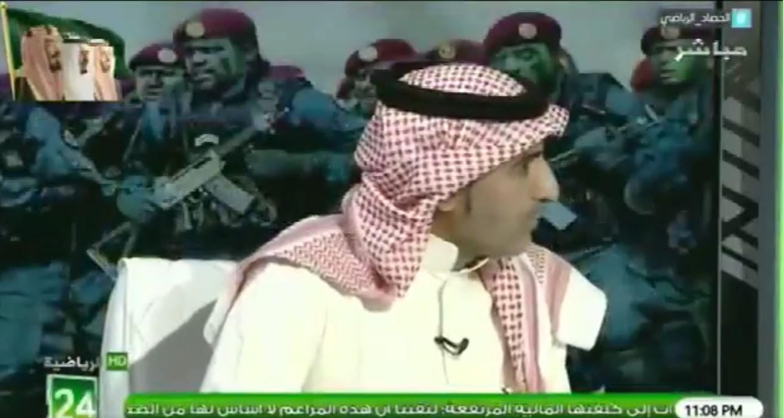 """بالفيديو..مطرف القحطاني لـ""""الشعلان"""":الأسئلة التي لها أهداف ومآرب نستثنيها ..ورد مثير من الأخير!"""