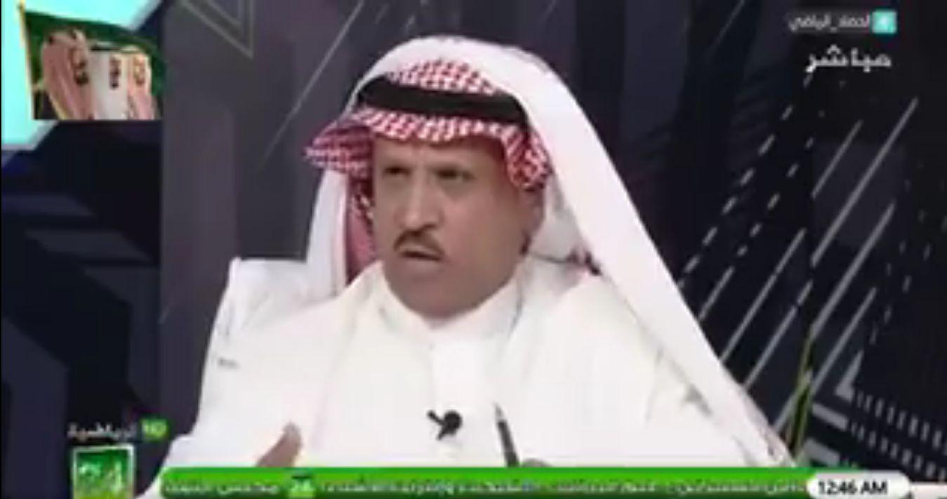 بالفيديو..حمود السلوه:هذا اللاعب تتواجد فيه روح القيادة في الملعب!