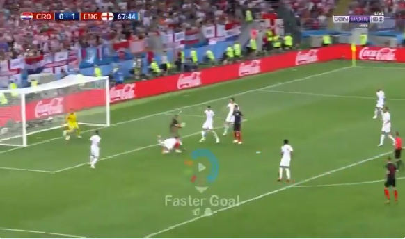 بالفيديو.. كرواتيا تحرز هدف التعادل في شباك انجلترا