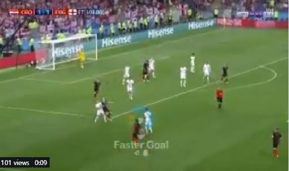 بالفيديو.. كرواتيا تسجل الهدف الثاني بشباك انجلترا في الوقت الإضافي من المباراة