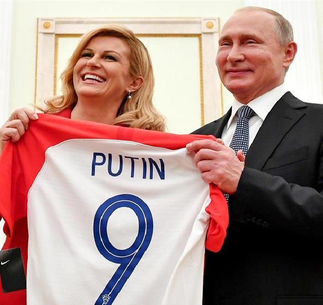 أول تعليق من رئيسة كرواتيا بعد خسارة لقب المونديال