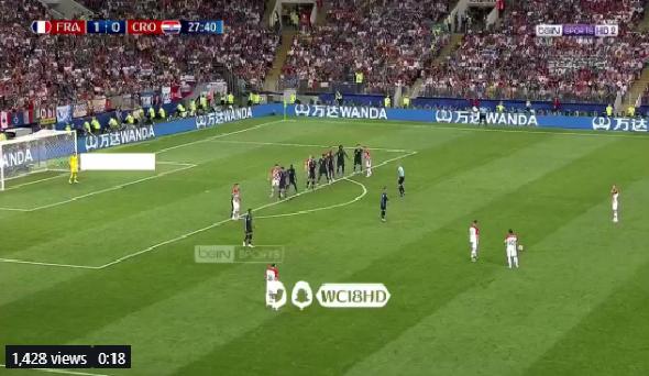 بالفيديو.. كرواتيا تسجل هدف التعادل في مرمى فرنسا