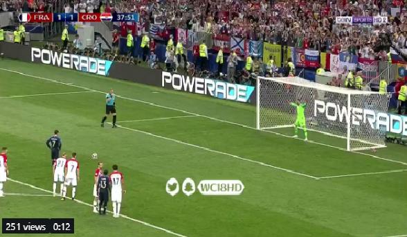 بالفيديو.. فرنسا تضيف الهدف الثاني في شباك كرواتيا من ركلة جزاء