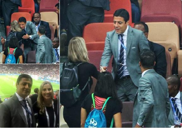 الحكم الإيراني الذي أدار مباراة المركز الثالث في كأس العالم يخشى العودة لبلاده.. والسبب مصافحة امرأة
