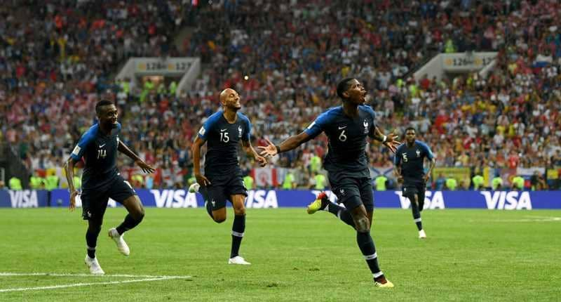 بالفيديو.. فرنسا بطلة لكأس العالم للمرة الثانية في تاريخها بعد فوزها على كرواتيا