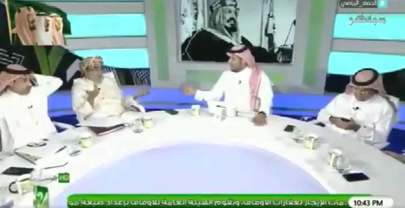 بالفيديو..محمد الشهراني : منذ ان بدأنا في الكرة و العميد هو نادي الاتحاد..ورد غير متوقع من محمد غزالي يماني!