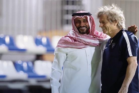 حقيقة خبر رحيل سامي الجابر عن رئاسة الهلال