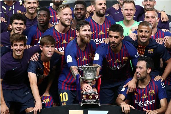 بالفيديو.. برشلونة بطلًا للسوبر الإسباني للمرة 13 في تاريخه